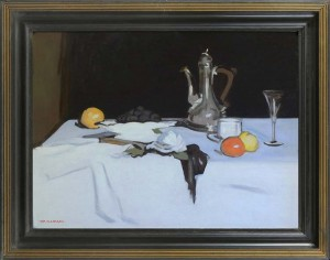 TOM FLANAGAN Still life with coffee pot
