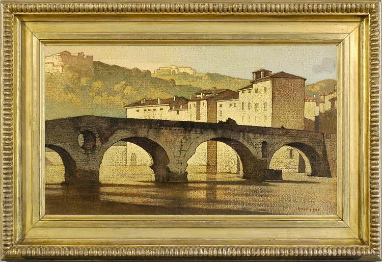 BERTRAM NICHOLLS Ponte di Pietra, Verona 1928