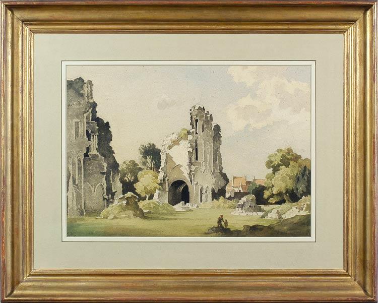 BERTRAM NICHOLLS Abbey Ruins